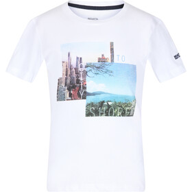 Regatta Bosley III Camiseta Niños, white city
